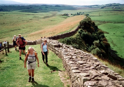 Hadrian's Wall with Active Journeys - escorted adventure travel or self-guided adventure travel tours and holidays